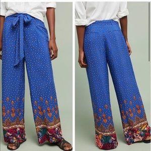 Anthropologie Ett Twa wide leg pants size 2